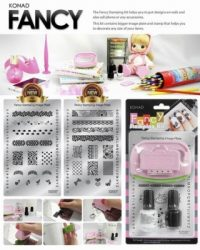 KONAD FANCY STAMPING KIT 3