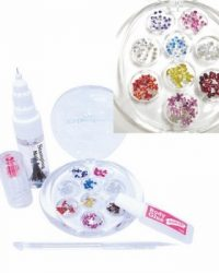 KONAD RHINESTONE NAIL AND BODY SET