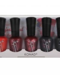 Konad Professional Nail Polish Set Elegant 5 x 15ml