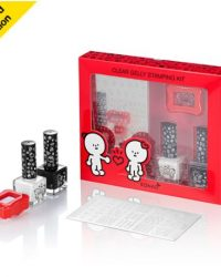 KONAD BARABAPA Limited Edition Clear Jelly Stamping Kit - HAPPY.