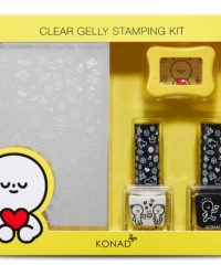 KONAD-X-BARABAPA-Honeymoon Clear-Jelly-Stamping-Kit 2